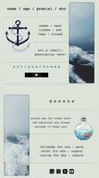 stormy seas / non core custom boxes by dusk-dreams