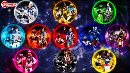 Uchu Sentai Kyuranger TVNihon Splash by DidiZorbaII