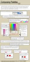 Composing Palettes 1 : DRAFT by LadyHazy
