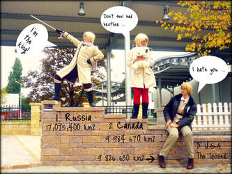 APH - Who's the biggest by ota-chan
