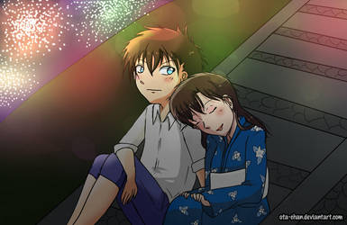 Kaito n Aoko - summer memories by ota-chan