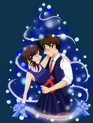 Secret Santa: Blue Christmas by ota-chan