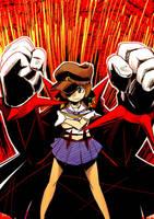 Kill la Kill: Mako's Two-Star Goku Uniform by kiraDaidohji