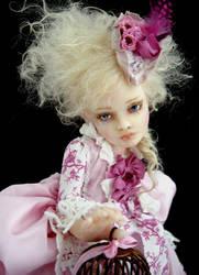 Little Marie Antoinette detail by Inchelina