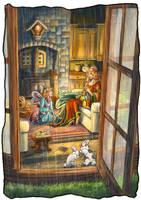 Rachele - Inside the house by ManuelaSoriani