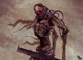 cyborg by Prophetharm