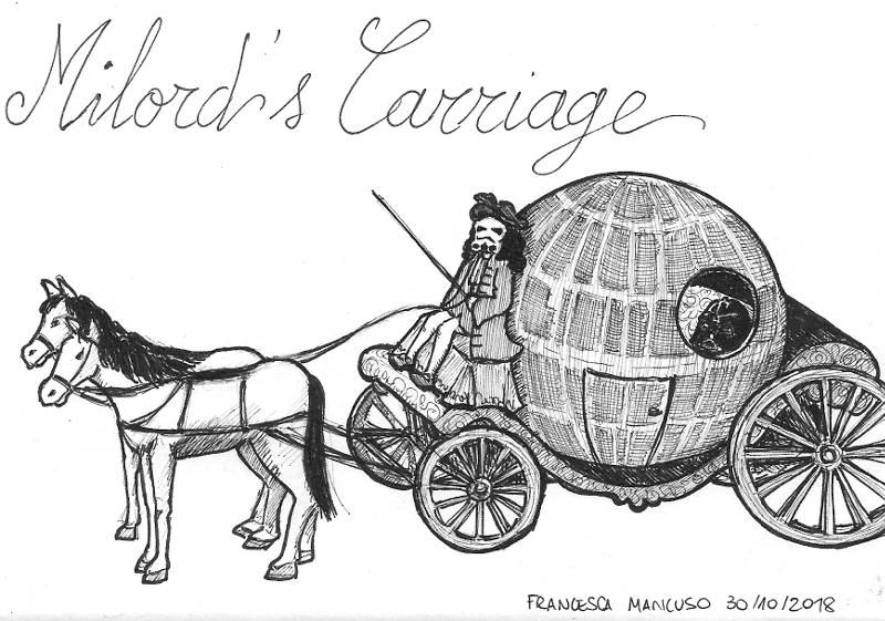 Inktober 2018 - Day 30 - Milord's Carriage by dreamsaddict