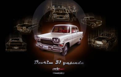 Devrim Otomobili by edcgraphic