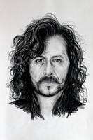 Sirius Black (Gary Oldman) by MatyldaSzytula
