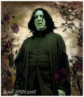 Snape in a Dark Garden by Expell-HUN