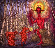 Devil's golden apple by korintic