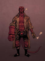 Hellboy test by korintic