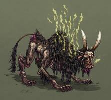 Stinky beast by korintic