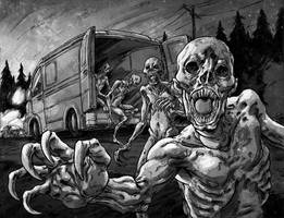 Blood Corpses by korintic