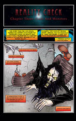 Reality Check Issue 3 page 1 by acarson333
