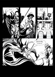 Batpage Ink Sample by acarson333
