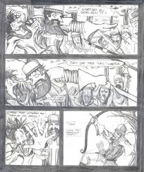 Medieval Page 1 Pencilled by acarson333