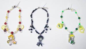 Sword Art Online Beaded Charm Bracelets by jordannamorgan