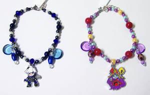 League of Legends Beaded Charm Bracelets by jordannamorgan