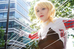 Spider Gwen cosplay V by ReaverSkill