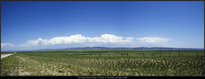 Eastern Wyoming Plains by SchaF