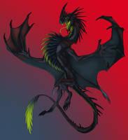 Dark Dragon by Crazy-Dragon