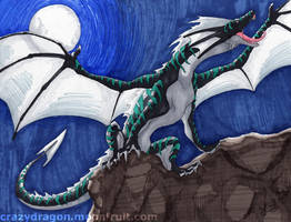 Mountain Dragon by Crazy-Dragon