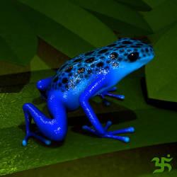 Rana Azul by null-void