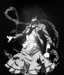 Dark Tomoko by DarkBySKisM