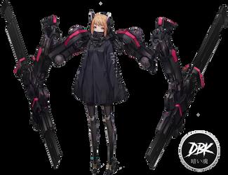 Gia anime girl render by DarkBySKisM