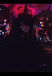 Kurumi Tokisaki by DarkBySKisM