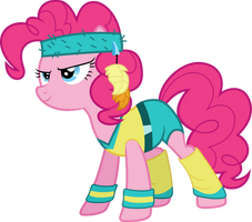 Exercise Pinkie Pie by PC012