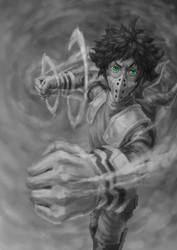 Boku no hero Deku by Elfios