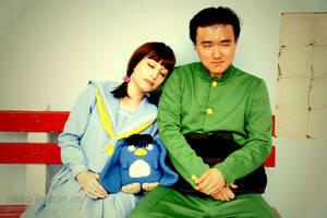 YYH Cosplay: Couple by SawaKun