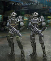 Infantry by Eriopsis