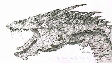 Smaug The Golden by RossmaniteAnzu