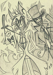 Evil Trinity by RossmaniteAnzu