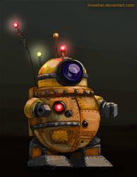 Helper Robot Concept by NRWalker