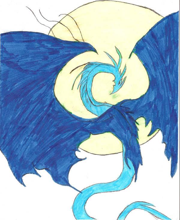 dancing dragon by Erafine