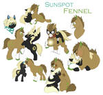 Collage- Sunspot and Fennel (2012) by elusiveCONQUEROR