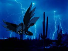 Sunspot-Desert Thunder Storms (2012) by elusiveCONQUEROR