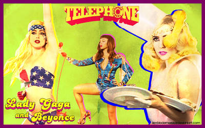 Lady Gaga - Telephone WP2 by KeybladeMeister