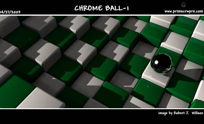 Chrome Ball 1 by XFozzboute