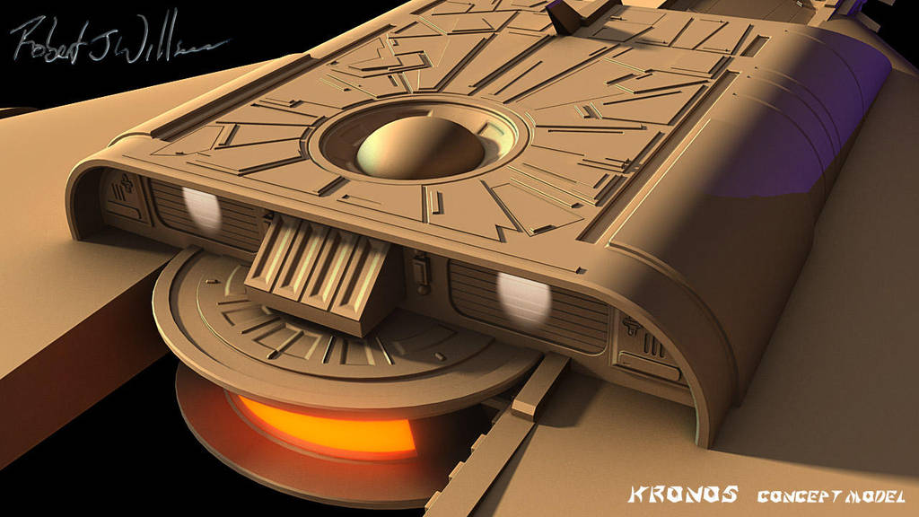 My Version Of Kronos 1 Study Model part 90 by XFozzboute