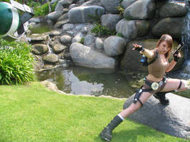 Tomb Raider Legend: Take Cover by JennCroft