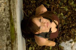 TRU Lara Croft - Looking Up by JennCroft