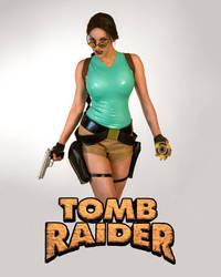 Classic Lara Croft Cosplay by JennCroft