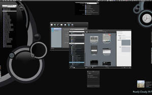 Smooth Black CCI 2.6 Desktop by marsmuse