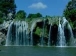 First Falls Lake Buchanan Texa by CorazondeDios