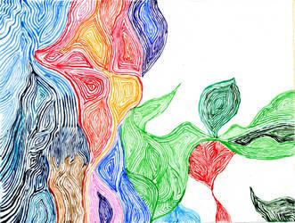 Rainbow Wood 2015 by CorazondeDios